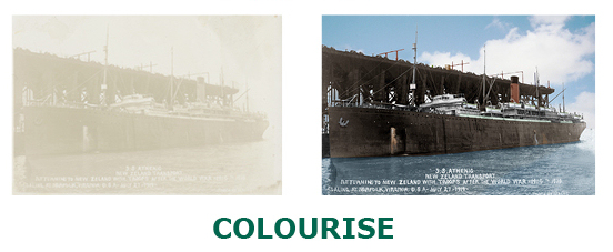 Example of Colourisation