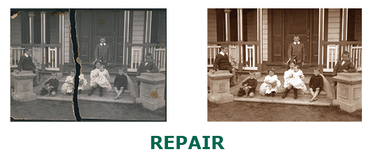 Example of Photo Repair