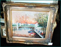 Ornate Corner Frame