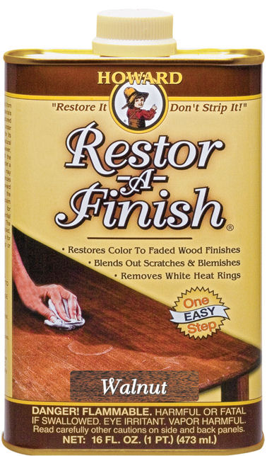 Howard Quality Wood Care Products - Wood Restorer - Feed-N-Wax