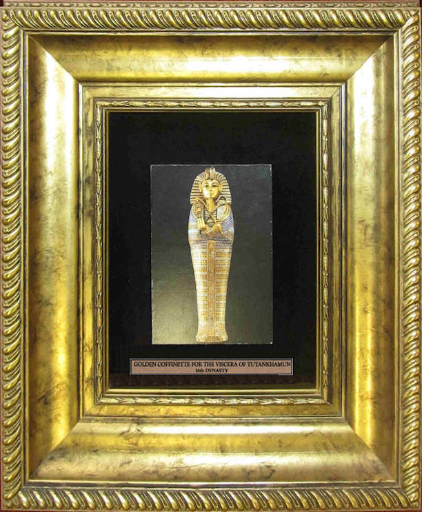 Golden Coffinette for the Viscera of Tutankhamun