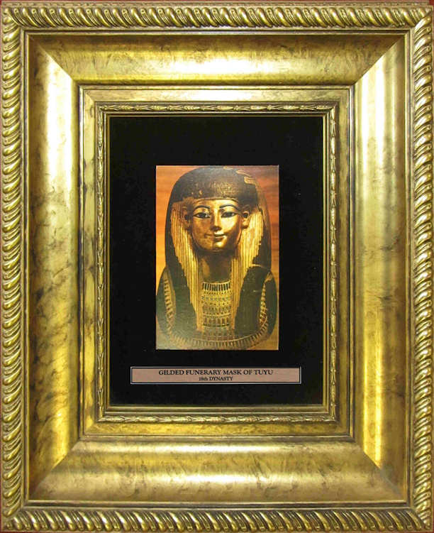 Gilded Funerary Mask of King Tutankhamun