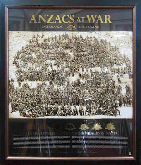 ANZACs At War Limited Edition COA